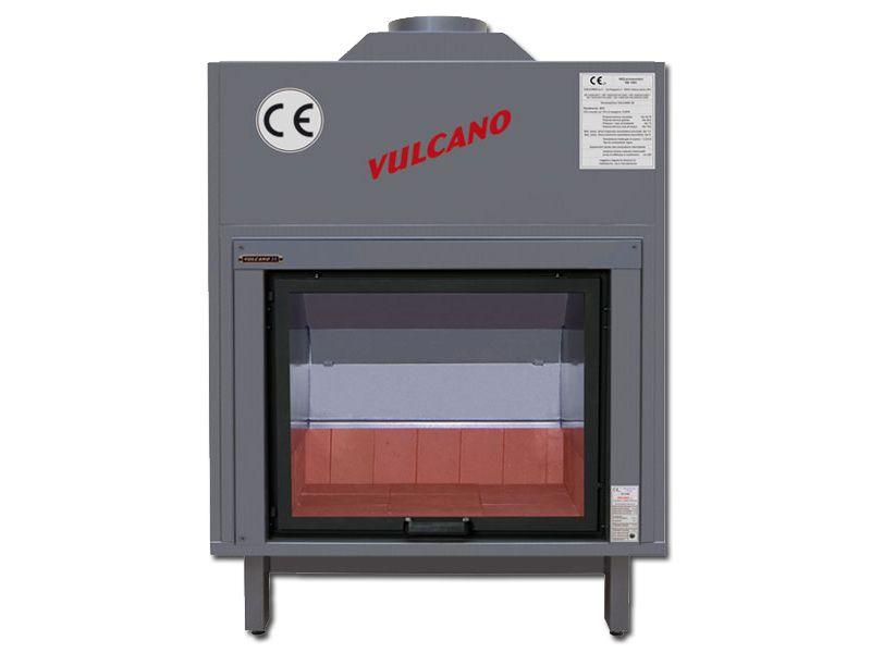 termocamino a legna vulcano 25 serie 1