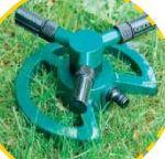 Irrigatore rotativo a 3 bracci plastica