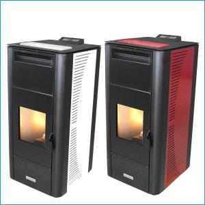 "Termostufa a pellet idro ventilata ""Centropelet ZV20"" 20 KW Centrometal"