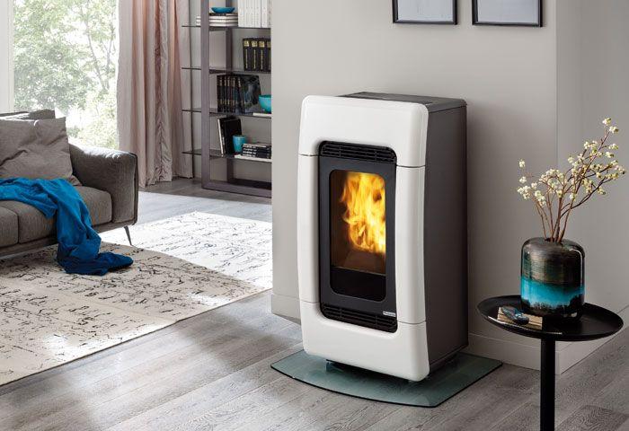 Edilkamin termostufa idro ventilata meg 24 kw - Stufe a pellet edilkamin ...