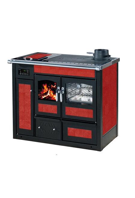 Termocucina Legna Klover Storica Ktop 28,5 KW con forno